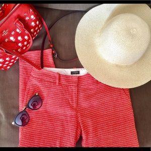 J CREW Textured Capri Pants